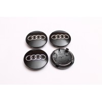 Cepovi za Alu felne Audi Crni 68mm