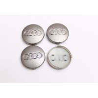 Cepovi za Alu felne Audi Sivi 60mm