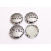 Cepovi za Alu felne Audi prsten Sivi 76mm