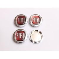 Cepovi za Alu felne Fiat Crveni 50mm