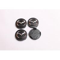 Cepovi za  Alu felne Mazda Crni 56mm