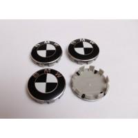 Cepovi za Alu felne BMW Crno Beli 68mm