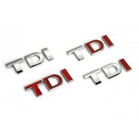 Natpis TDI na lepljenje